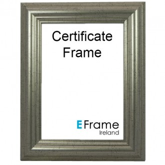 Certificate Frame A4 Silver
