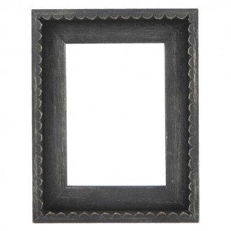 Picture Frame - Chic Black Frill