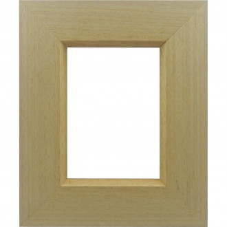 Picture Frame Flat Case Natural Timber
