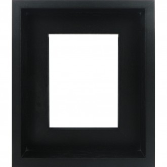Inset L Shape Black