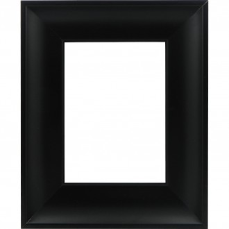 Picture Frame Inset Scoop Black