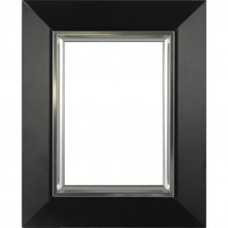 Picture Frame Slick Black Sliver Line