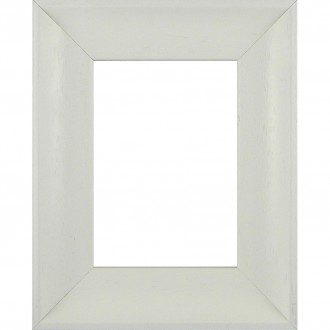 Picture Frame Inset Scoop Off White
