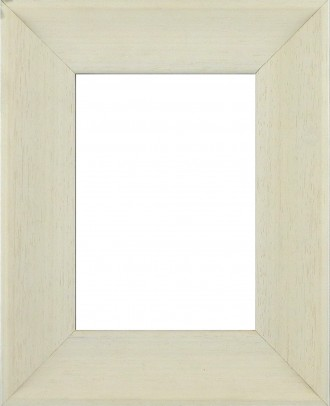 Picture Frame Inset Scoop Lime White