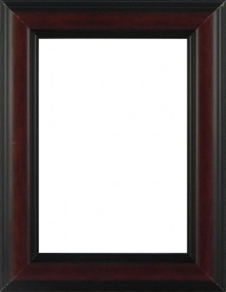 Picture Frame Dome Brown Medium