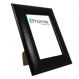 Photo Frame Black Concave - economy range