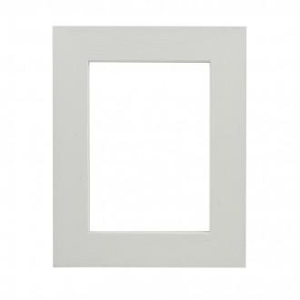 Picture Frame - Flat Open Grain White Wide