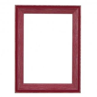Santorini Red Whitewash Picture Frame