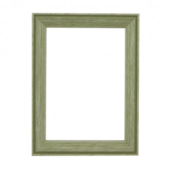 Santorini Lime Green Whitewash Picture Frame