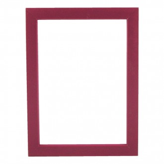 Picture Frame - Metro 15 Red