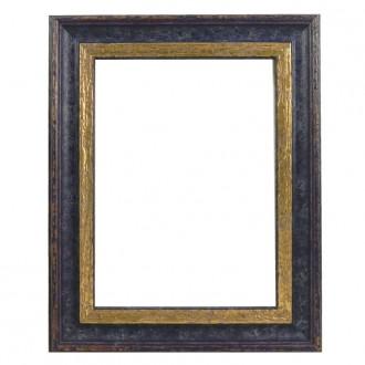 Picture Frame - Woodland Blue Gold