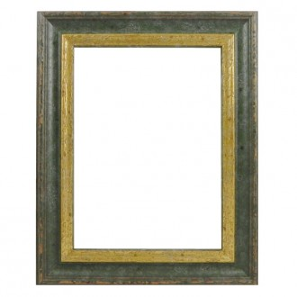 Picture Frame - Woodland Green Gold