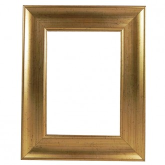 Picture Frame Gold With Black Fleck