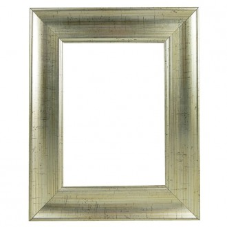 Picture Frame Silver With Black Fleck