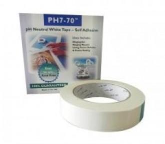 Acid free self adhesive tape