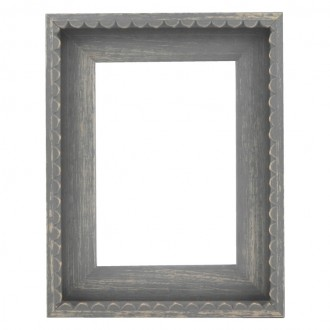Picture Frame - Chic Grey Frill