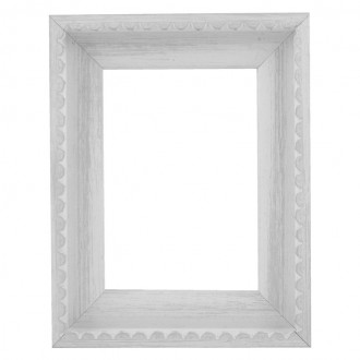 Picture Frame - Chic White Frill