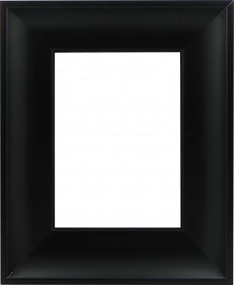 Picture Frame Inset Scoop Black