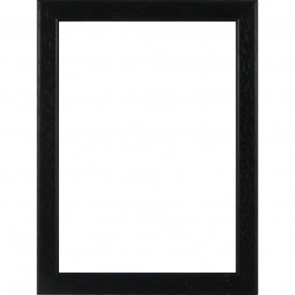 Picture Frame Flat Black Slim