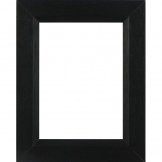 Picture Frame Black with chamfer medium