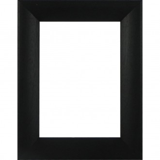 Picture Frame Bevel Washed Black
