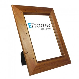 Photo Frame Rustic Pine