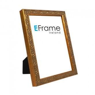 Photo Frame Ornate Gold