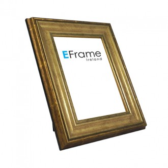 Photo Frame Antique Gold
