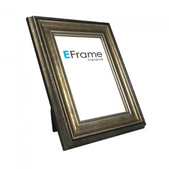 Photo Frame Antique Silver Scoop