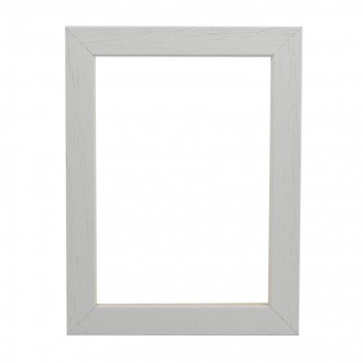 Picture Frame - Open Grain White Box 32
