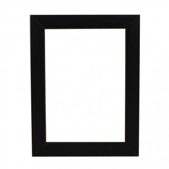 Picture Frame - Open Grain Black Box 32