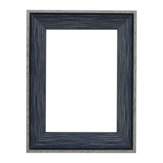 Santorini Blue Whitewash Picture Frame