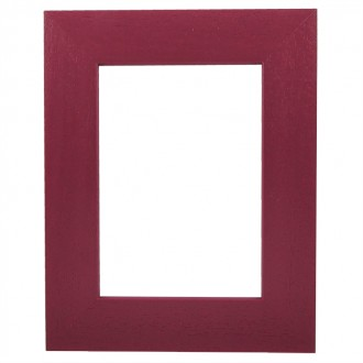 Picture Frame - Metro 39 Red