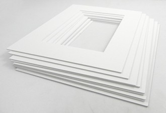 White Core Mount - 10 Pack